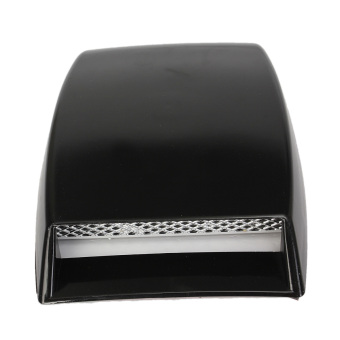 Harga Size 10''x 6.3''x 2'' Car Decorative Air Flow Intake Cover Hood Vent Bonnet New