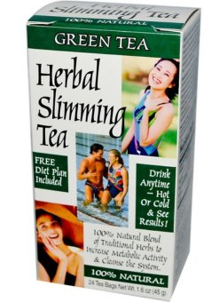 Harga 21st Century Health Care, Herbal Slimming Tea, Green Tea, Caffeine Free