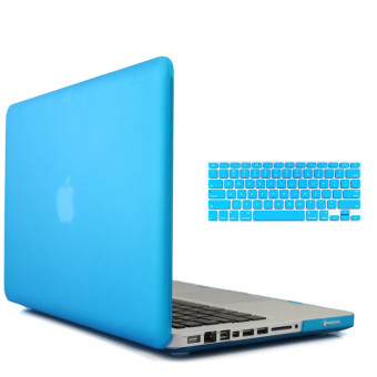 "Harga Welink 3 in 1 Matte Apple MacBook Pro 13"" Case / Soft-Touch Plastic Hard Case Cover + Anti-dust Plug + Keyboard Cover for Macbook Pro 13"" [Models:A1278] (Blue)"