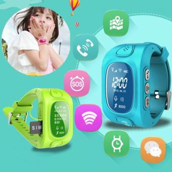 2Cool Children Smart Watch with Phone Call SOS Anti Lose GPS Tracker WiFi Position Smart Watch for kids - intl