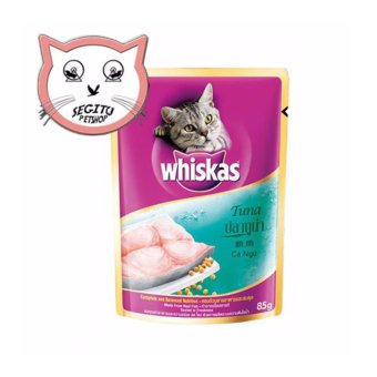 Collar/Kalung uk S + Leash Hijau Tua untuk Kucing, Kelinci, Musang, ... Source · Harga MAKANAN KUCING WHISKAS ADULT TUNA WET FOOD 85 GRAM