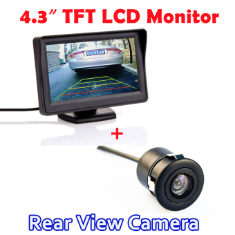 """Keywords Pencarian 4.3"""" Inch TFT LCD Auto Parking System Rearview Monitor with 170 Degree Waterproof HD CCD Car Rear View Camera dan Persamaan Produk"""