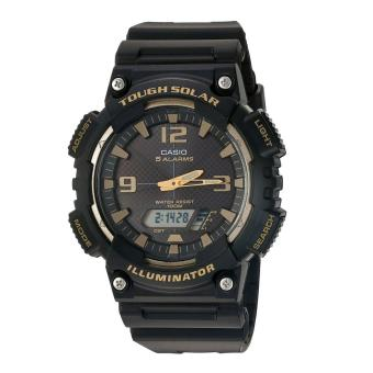 Harga Casio Watch Solar Powered Black Resin Case Resin Strap Mens NWT + Warranty AQ-S810W-1A3