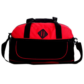 Harga Bag & Stuff Marcopolo Sport Travel Bag - Merah