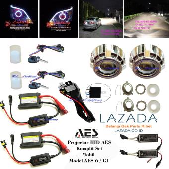 Harga HID Projector Aes 6 Tipe G1 Lensa Ultimate - Mobil