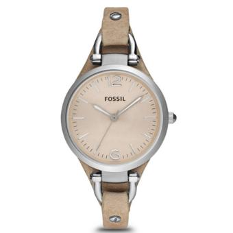 Harga Fossil Jam Tangan Wanita Fossil ES2830 Georgia Bone Leather Watch