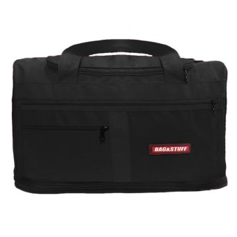 Harga Bag & Stuff Travel Bridge Expandable Sport Bag - Hitam