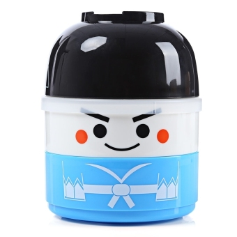 Harga XIYOYO Vacuum Thermal Double Layer Lovely Doll Lunch Box Warm Foodcontainer For Kids Boy - intl