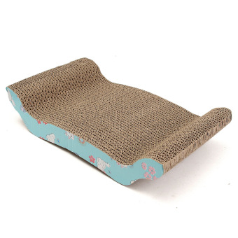 Harga Corrugated Paper Cat scratcher Cat Toy Cat Sofa Comes With A Large Yard Catnip Classic emperors - intl