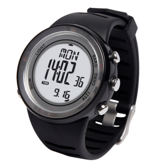 Harga EZON H009A15 hiking mountain climbing digital watch(black)