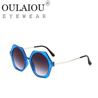 Oulaiou Women's Fashion Accessories Anti-UV Trendy Reduce Glare Sunglasses O2009 - intl