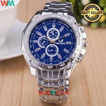 Orlando MW 018 - Jam Tangan Pria - Stainless Steel Band Quartz Watch With  Tachymeter - a0132d7d65