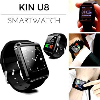Harga Best Smartwatch - Kinwatch Onix U Watch U8 Smart Watch Android Dan Ios + BONUS Spesial