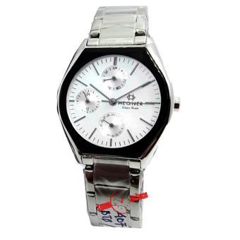 Hegner - H407L - Jam Tangan Wanita Chrono - Stainless Steel - Silver