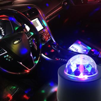 Harga Automobile general decorative lamp vehicle DJ sound control lamp - intl