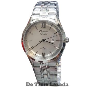 Alexandre Christie AC8510LS Jam Tangan Wanita Stainless Steel Silver