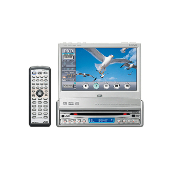 Harga INDASH DVD SINGLE DVD TV MOBIL SINGLE DIN JVC INDASH ( SILVER)