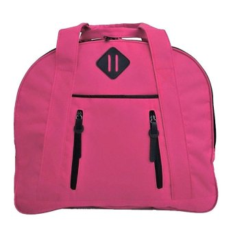 Harga Bag & Stuff Travallo Korea Travel Bag / Sport Bag / Gym Bag / Fitness Bag - Tas Travel / Tas Olahraga - Pink