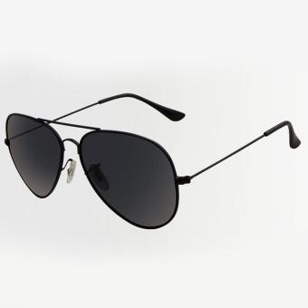 Classic Vintage Pria Kacamata Penerbang HD Kacamata Terpolarisasi Cermin Kacamata