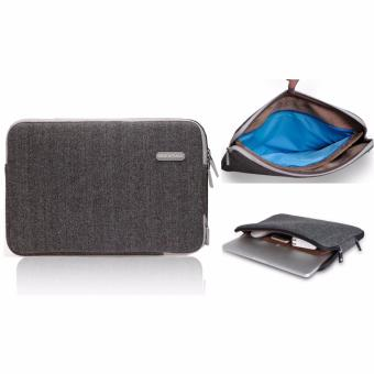 Harga Teiton Tas Laptop Waterproof Bag Sleeve Zipper for Macbook Air,Retina,Pro 11 12 13 Minimalis Simpel Elegan - Grey