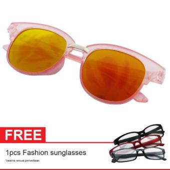 Harga Cat Eye Retro Sunglasses CT MN5007 Baby Pink