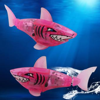 Harga Charger Powered Robot Shark Toy Pink
