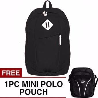 Harga Sonic Laptop Backpack + FREE Mini PoloClub Pouch Selempang