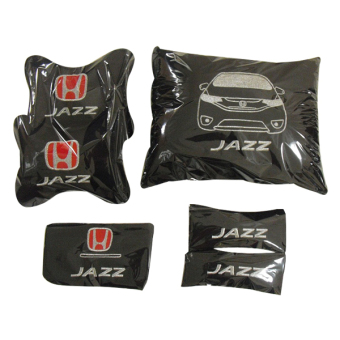 Harga Neo Bantal Car Set Honda Jazz RS - Hitam