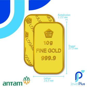 Gold Logam Mulia Emas King Halim 10 Gram Daftar Harga Terlengkap