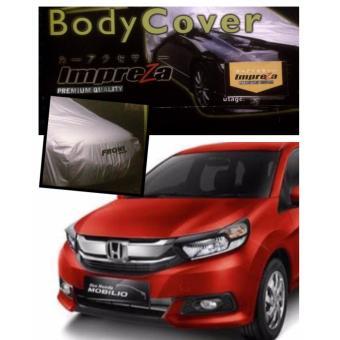 PADIE - IMPREZA Premium Body Cover Mobil HONDA MOBILIO - Grey/selimut mobil /pelindung