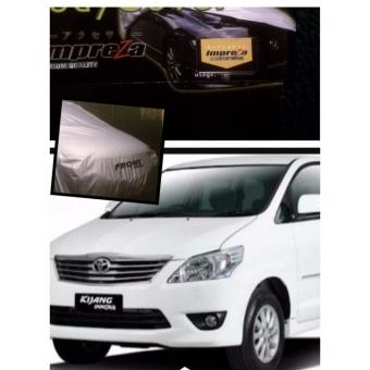 IMPREZA PREMIUM Body Cover TOYOTA INNOVA - Grey / Pelindung Mobil / Selimut Mobil / Sarung
