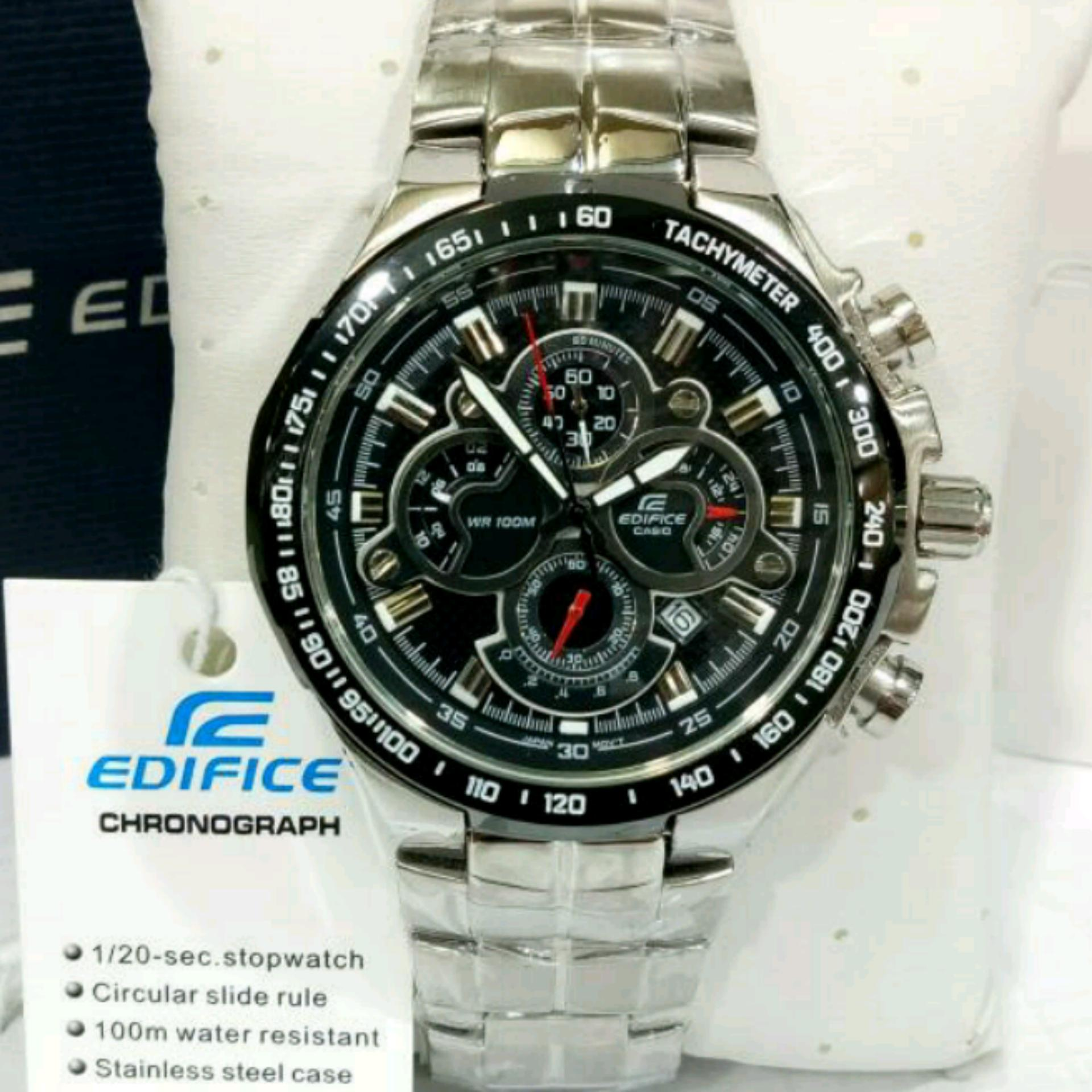 Casio Edifice Efr 523d 7av Stainless Steel Silver Dial White Combi 522d 1avdf Jam Tangan Pria Black Review Of Casioo 554d 1a2vudf Chain Belanja