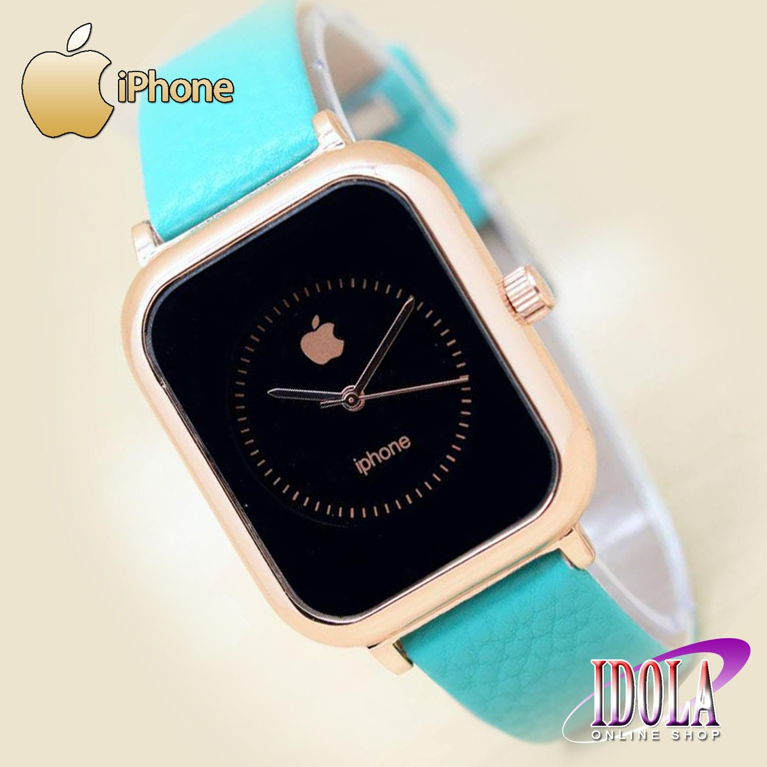 ... Review of Jam Tangan IPhone Jam Tangan Wanita Tali Kulit Geuine Leather Strap