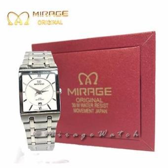 Jam Tangan Mirage Original Wanita Silver 7908L Pp ...