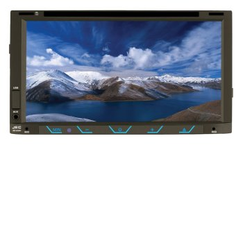 """Jec Gd-6980 - 6.95\""\"" Double Din Dvd/Tv Monitor Touch Screen\"""