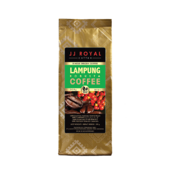 JJ Royal Coffee Lampung Robusta Beans (Kopi Biji) 200gr