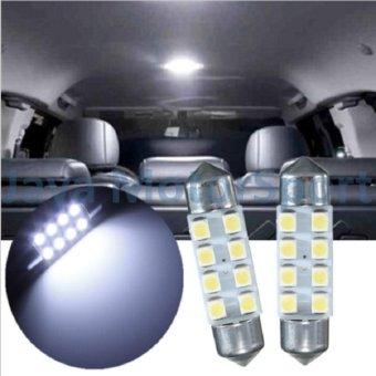 JMS - 1 pair / (2 pcs) Lampu LED Mobil Kabin / Plafon /