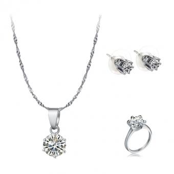 Harga Kalung Dan Anting Anting Berlian Imitasi Fancyqube
