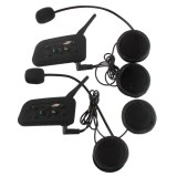 ... Joyfun Vnetphone Sepeda Motor Helm Intercom V6-1200m Bluetooth Interphone-Internasional - 5