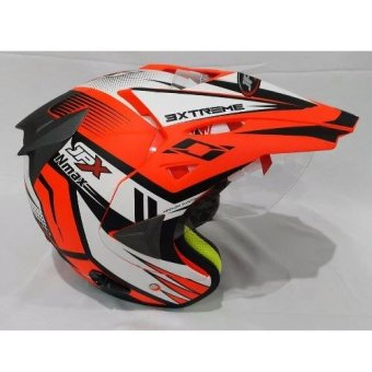 Jpx Supermoto Nmax Fluorescent Red Doff