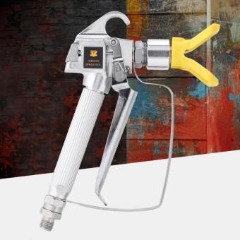 Justgogo Airless Paint Spray Tool 3600PSI High Pressure Guard Sprayer Machine with Nozzle Holder - intl