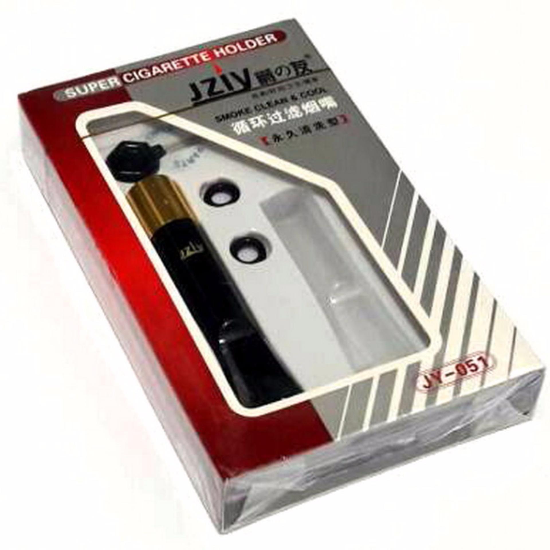 jziy jy-051 silver filter rokok permanen ukuran standard