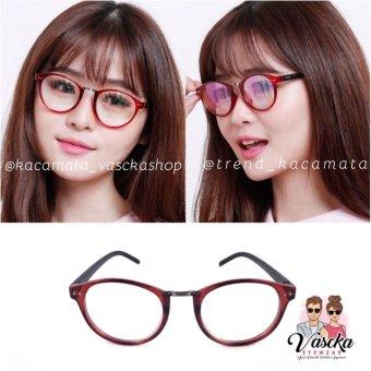 Kacamata Vasckashop Bonnie Clark Eyeglasses Maroon