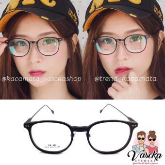 Kacamata Vasckashop Natsumi Black