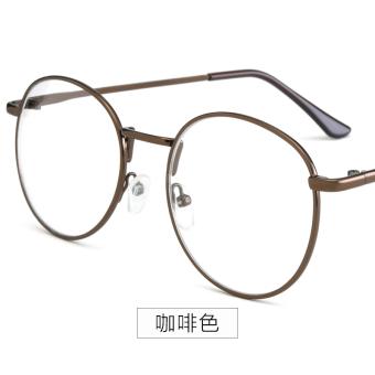 Korea Fashion Style Perempuan Pria Penurunan Tidak Berderajat Kaca Mata Frame Kacamata