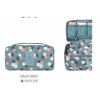 Korean TRAVEL UNDERWEAR pouch / organizer / multi-purpose bag - HIJAU MINT