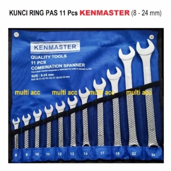 KENMASTER KUNCI RING PAS 11 Pcs 8mm - 24mm