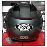 Gambar Produk Rinci KYT Dj Maru Solid Helm Half Face - Grey Terkini