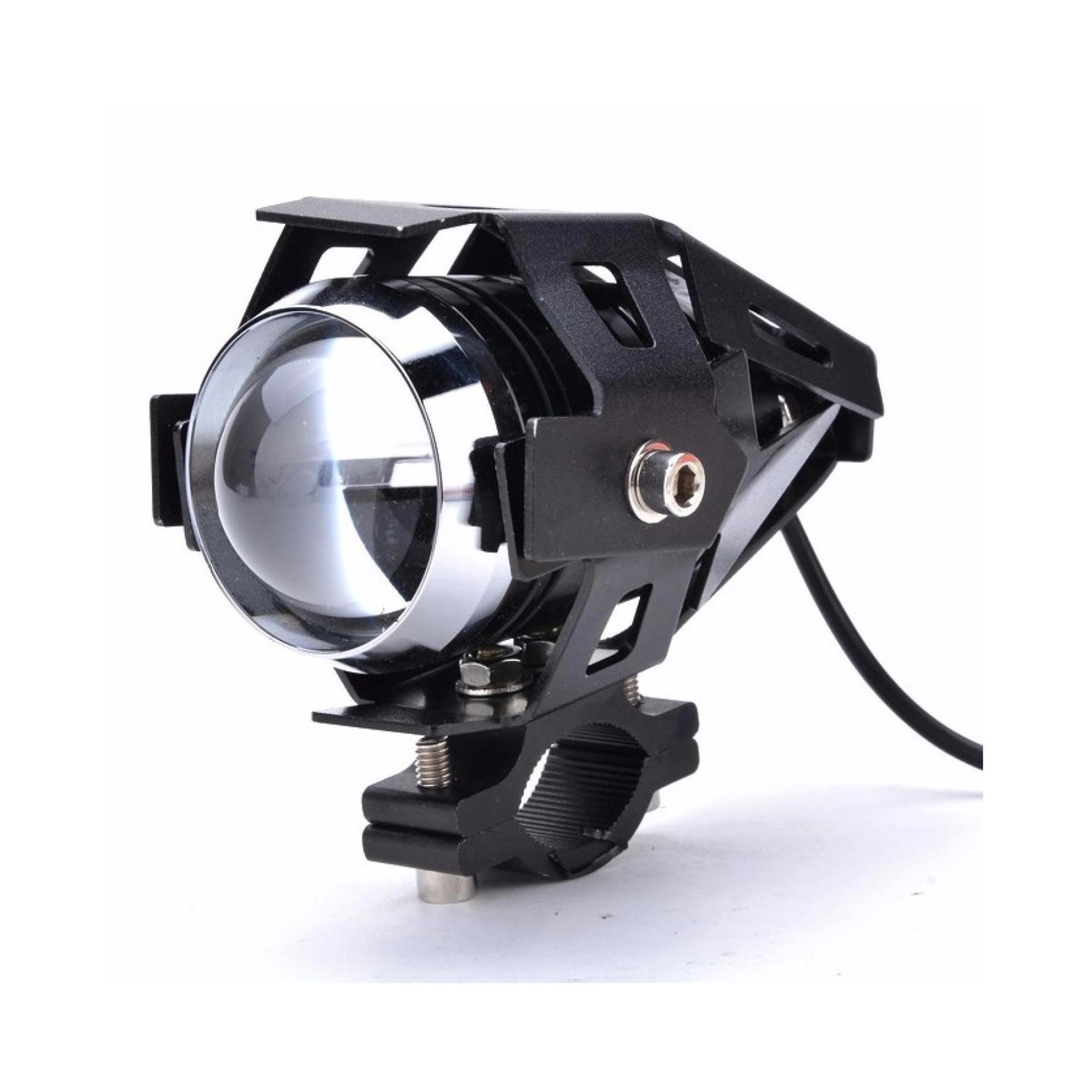 U8 Led Lampu Sorot Sepeda Motor Motorbike Headlight Tinggi Rendah Rockbros Hy Ld306 Bicycle Rechargeable 100 Lm Beam Black