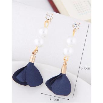 Diamond&flower Decorated Simple Design Alloy Stud Earrings. Source · LRC Anting Tusuk .